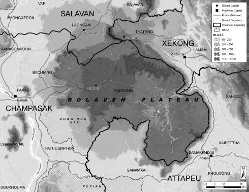 bolavenplateauregion